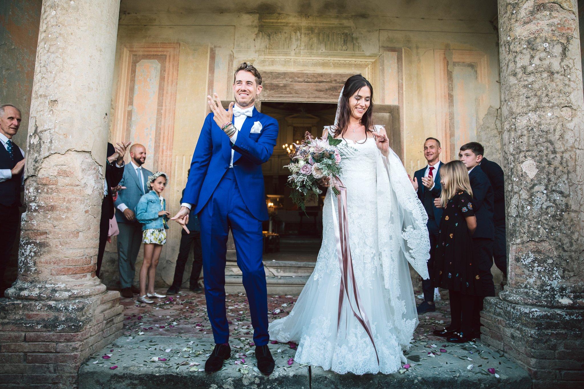 il matrimonio di antoine e clemence alla fattoria e villa di rignana in chianti vicino firenze.