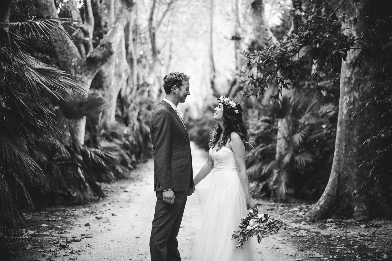 ritratto sposi, nella location di villa orlando.