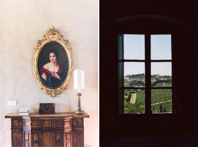 vista interni casale di valle