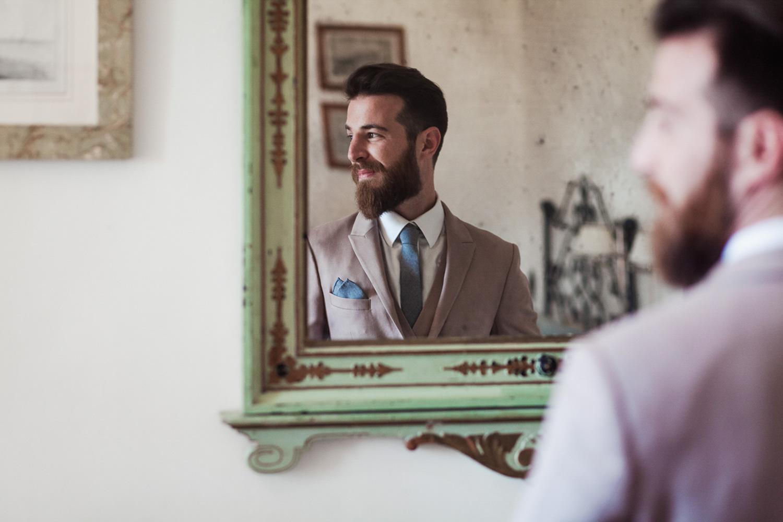 Aobaba groom suit